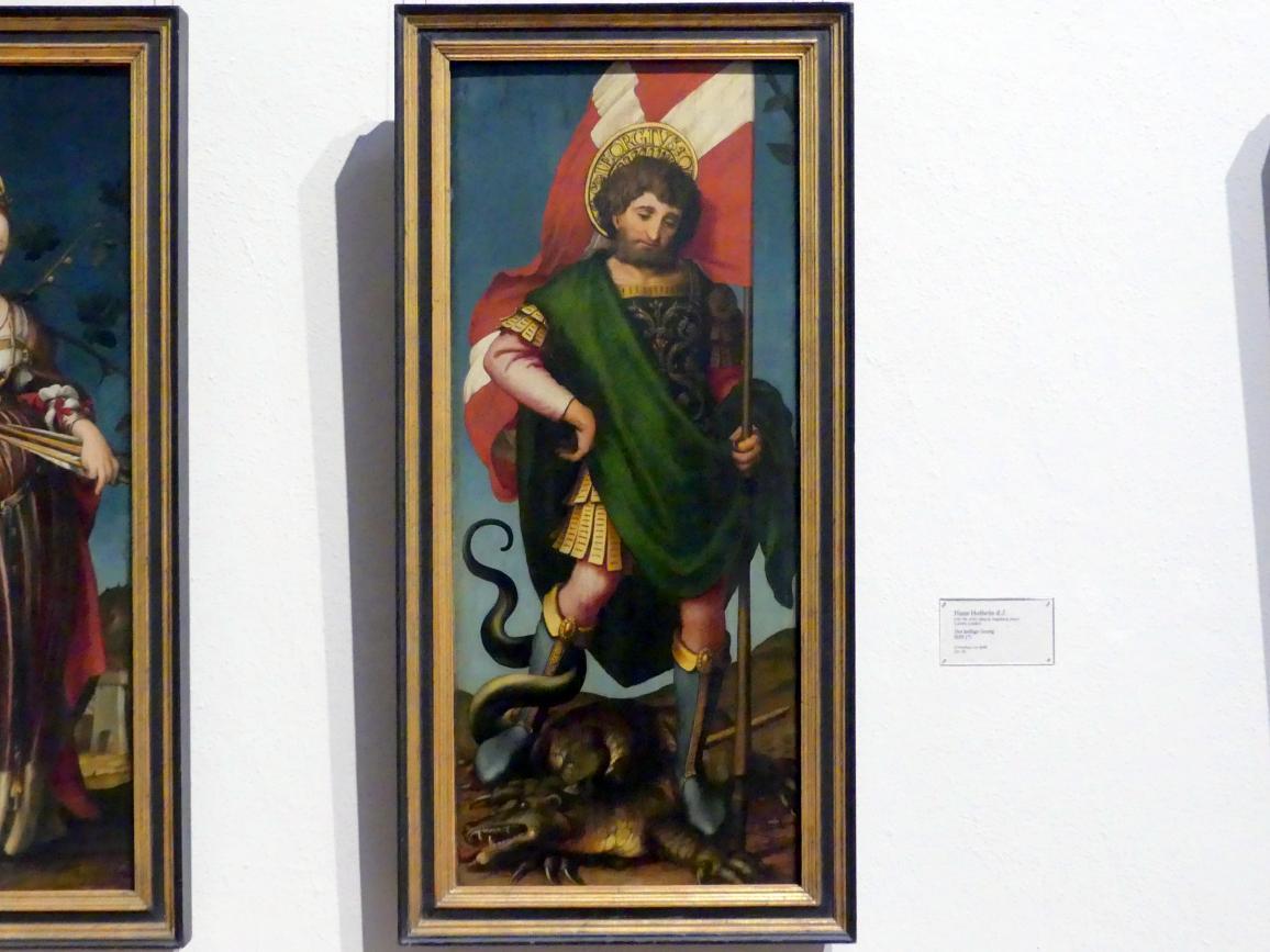 Hans Holbein der Jüngere: Der heilige Georg, 1520