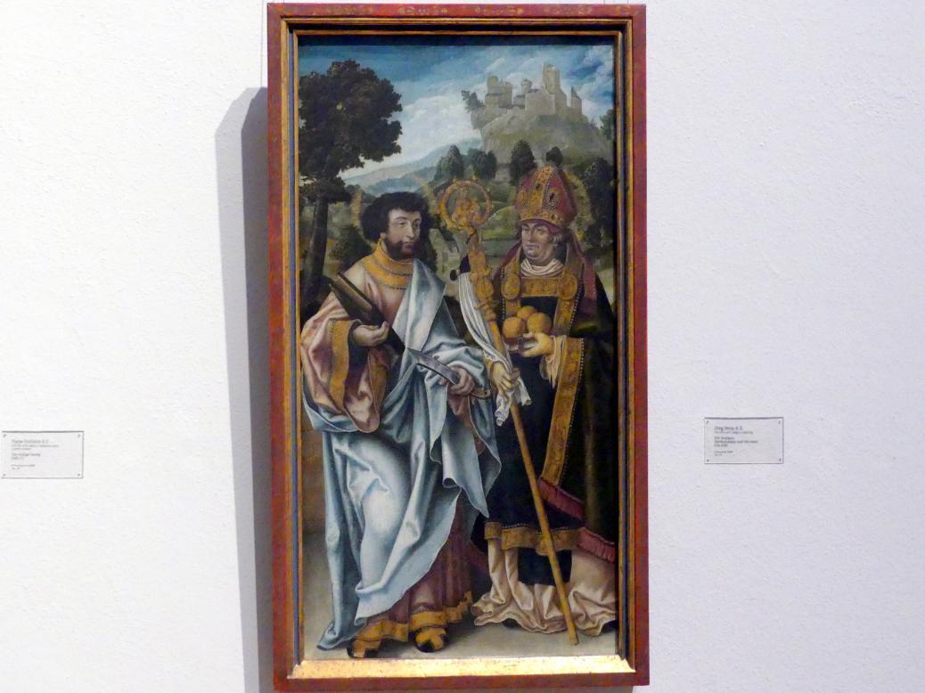 Jörg Breu der Ältere: Die Heiligen Bartholomäus und Nikolaus, um 1520