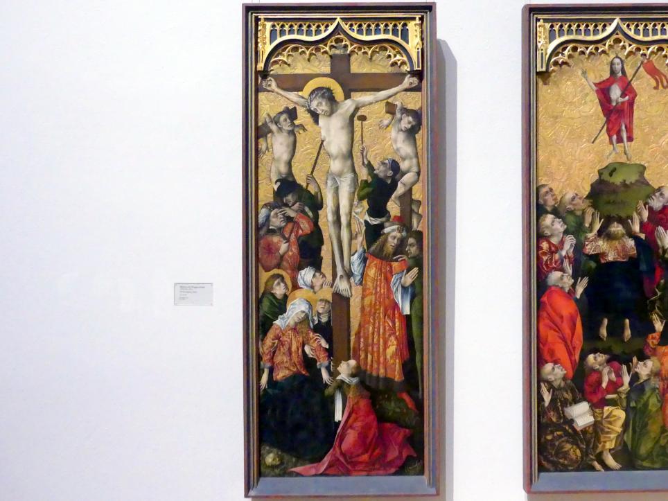 Meister des Regler-Altars: Die Kreuzigung Christi, um 1450 - 1455