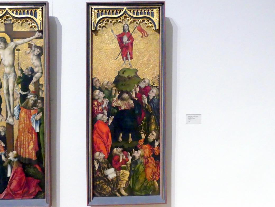 Meister des Regler-Altars: Die Himmelfahrt Christi, um 1450 - 1455