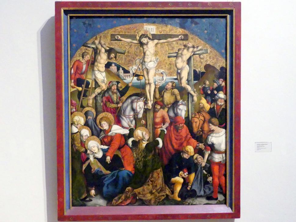 Meister von Sigmaringen: Die Kreuzigung Christi, 1515 - 1520