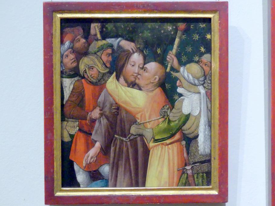 Meister des Tennenbacher Altars: Gefangennahme Christi, um 1430 - 1435