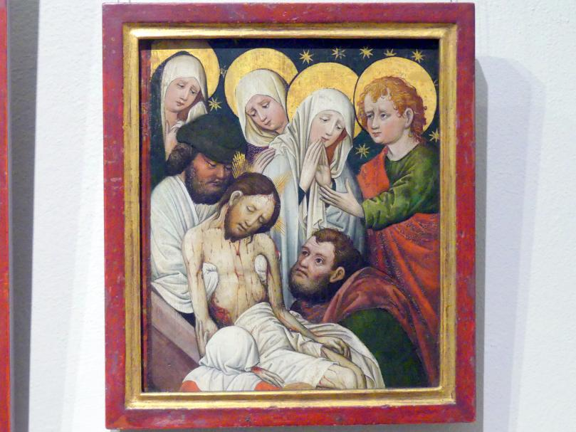 Meister des Tennenbacher Altars: Grablegung Christi, um 1430 - 1435