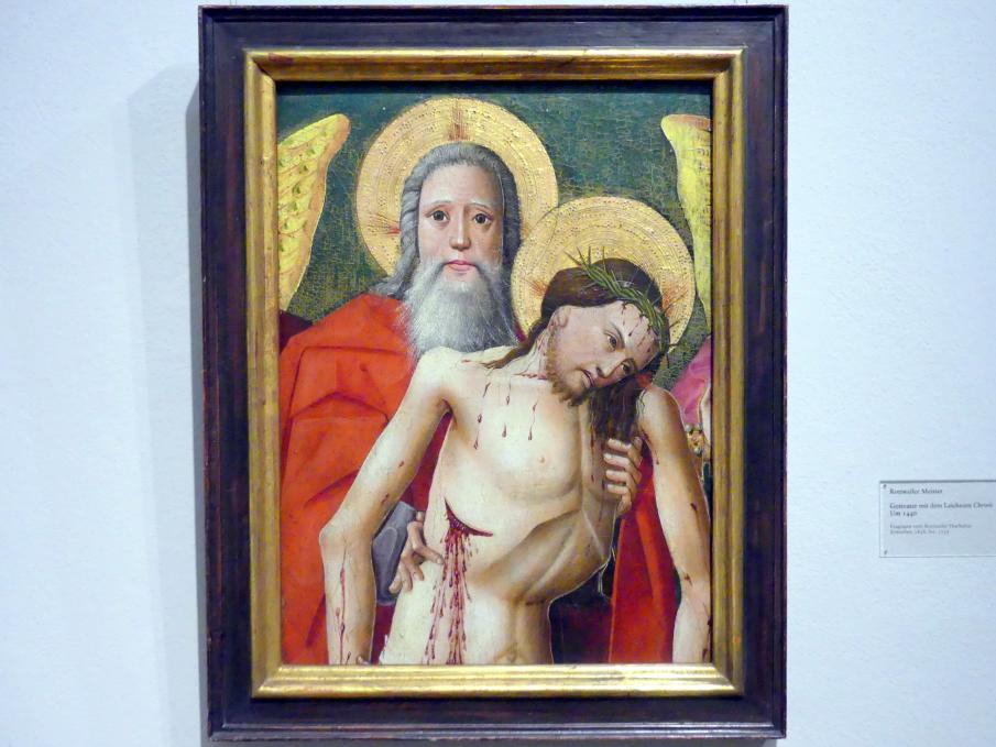 Gottvater mit dem Leichnam Christi, um 1440