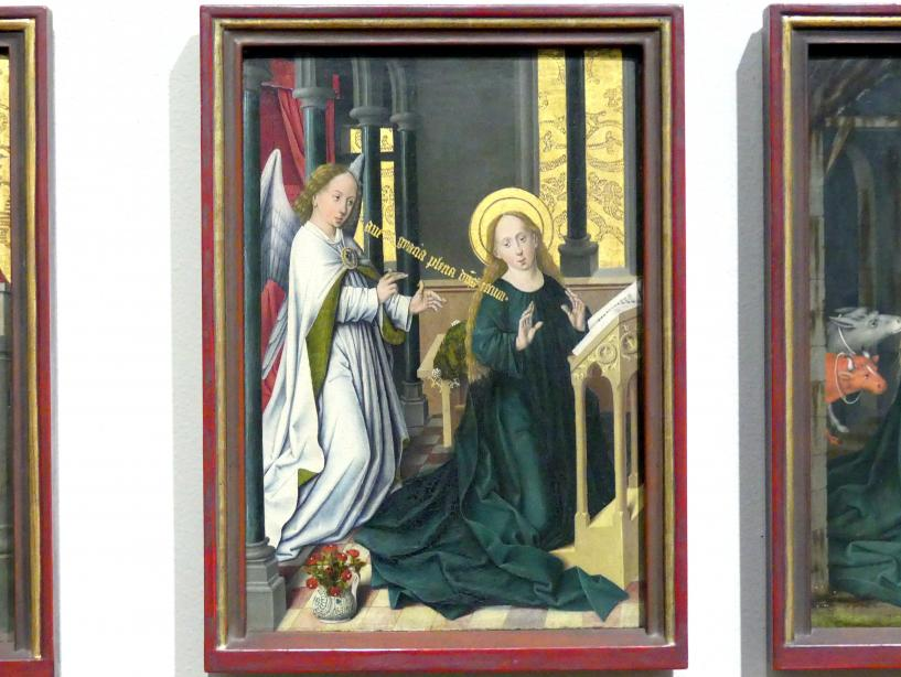 Friedrich Herlin: Die Verkündigung an Maria, 1460 - 1461