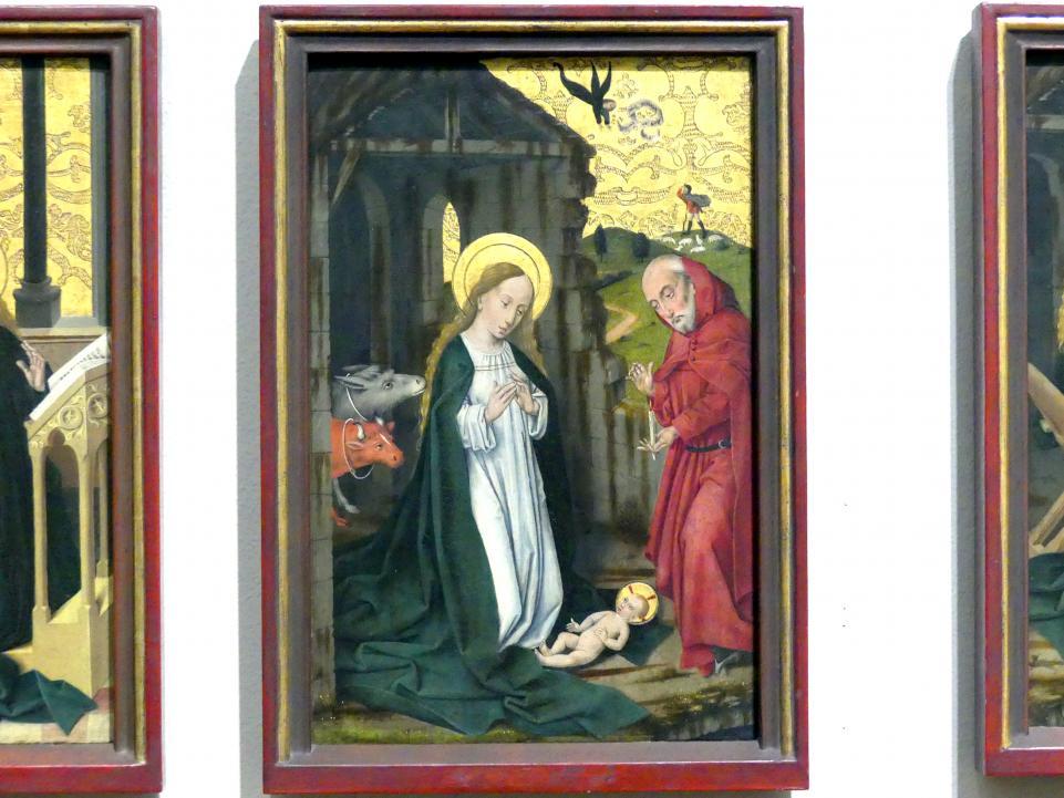 Friedrich Herlin: Die Geburt Christi, 1460 - 1461