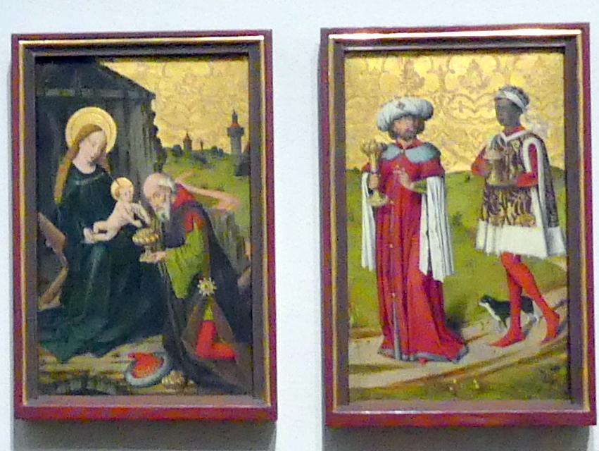 Friedrich Herlin: Die Anbetung der Heiligen Drei Könige, 1460 - 1461