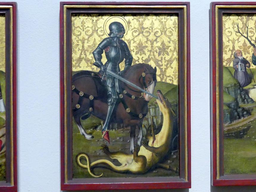 Friedrich Herlin: Der Heilige Georg als Drachentöter, 1460 - 1461