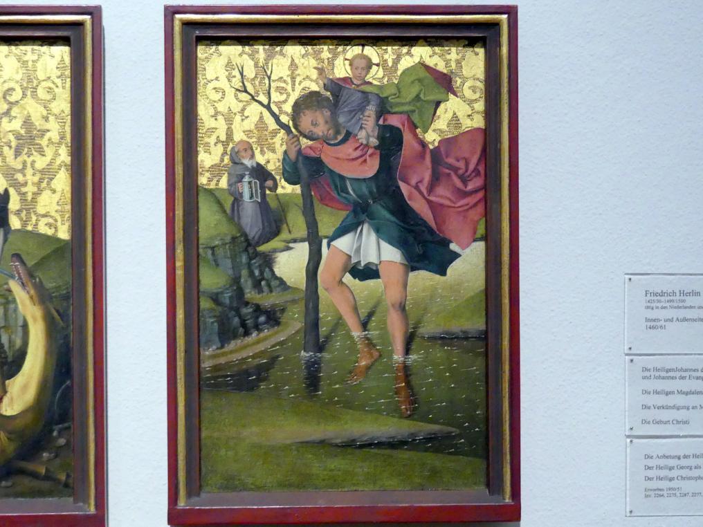 Friedrich Herlin: Der Heilige Christophorus, 1460 - 1461