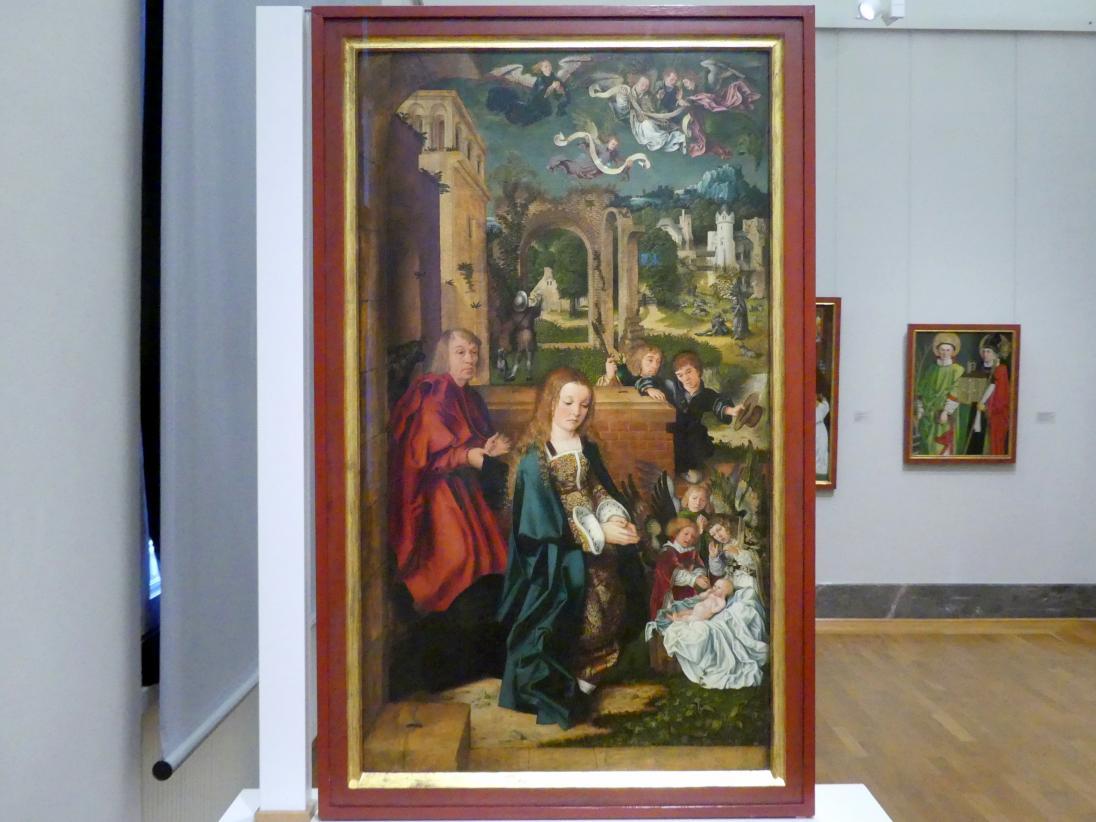 Ulrich Apt der Ältere: Die Anbetung des Kindes, 1510