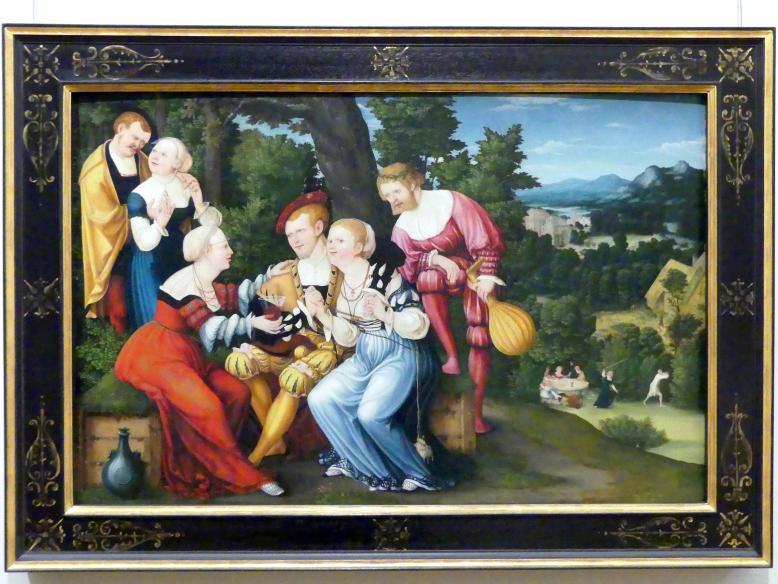 Der Verlorene Sohn bei den Dirnen, 1537