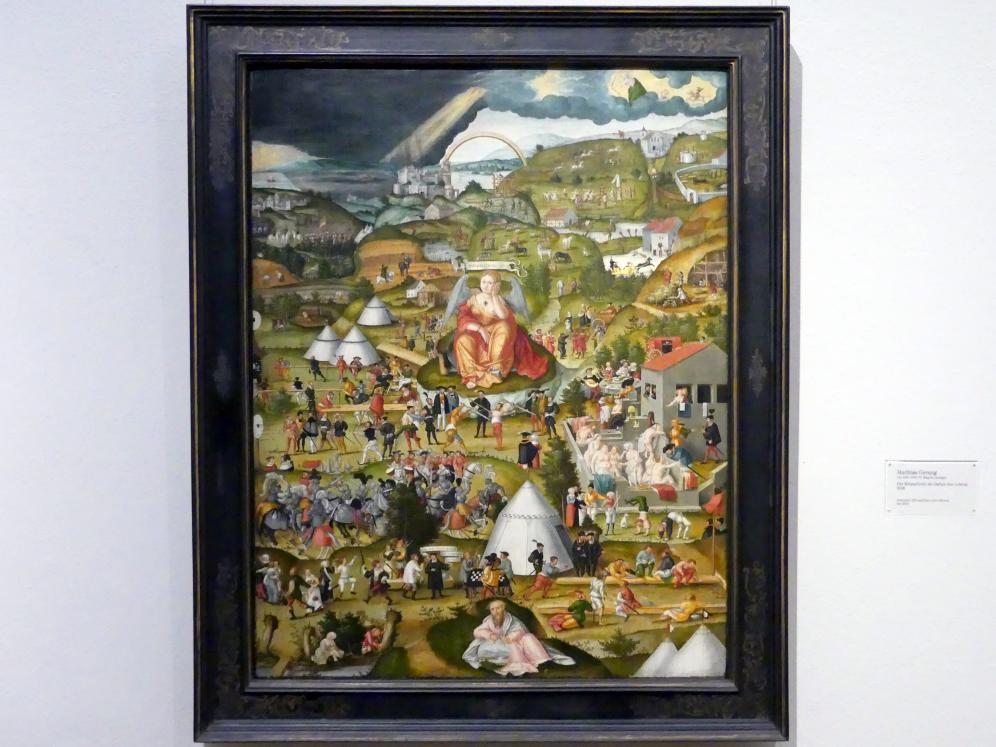 Matthias Gerung: Die Melancholie im Garten des Lebens, 1558