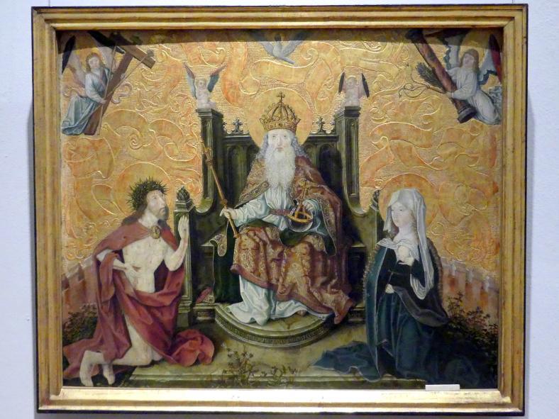 Christus und Maria als Fürbitter vor Gottvater, 1506