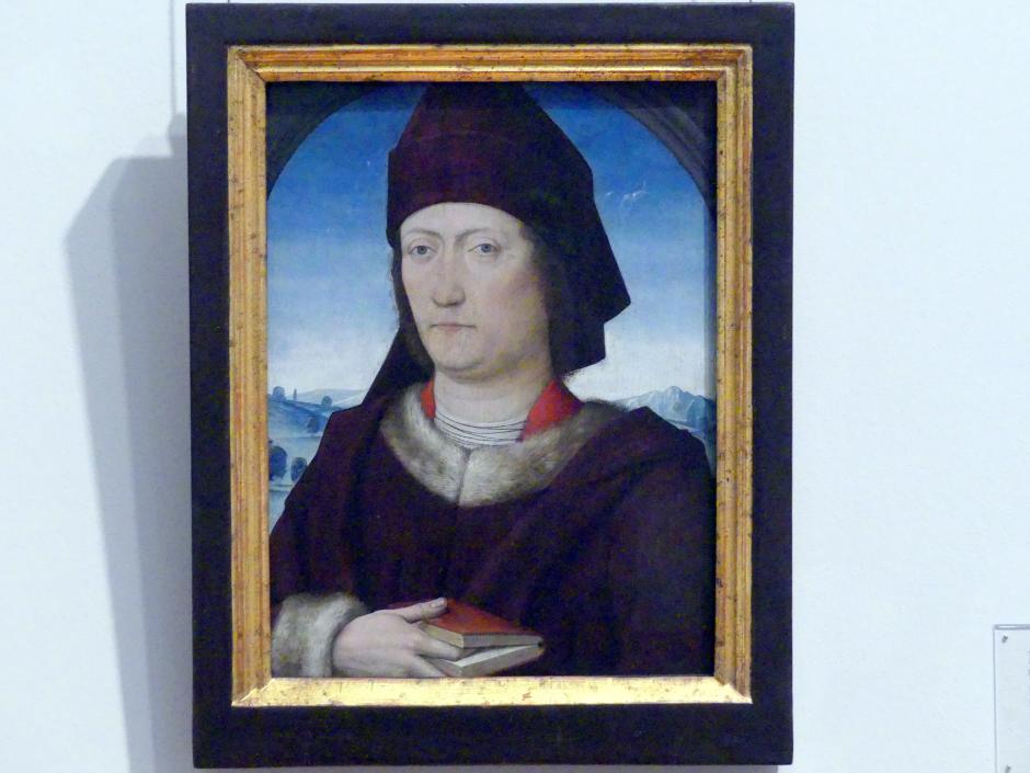 Meister des Marienlebens: Bildnis eines Mannes, um 1480