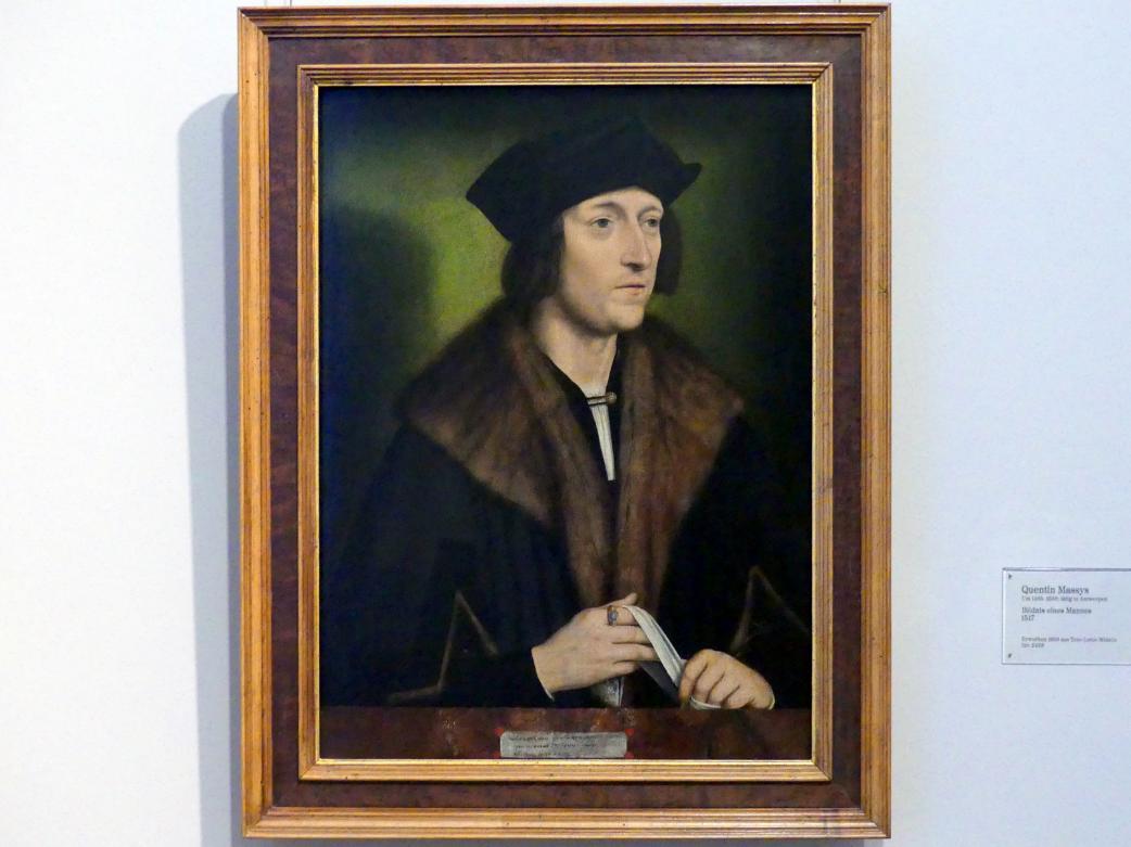 Quinten Massys: Bildnis eines Mannes, 1517