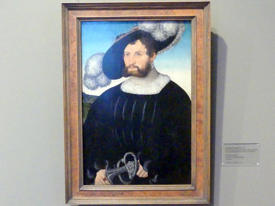 Lucas Cranach der Ältere: Ein Herr aus der Familie von Rechberg, 1535 - 1540