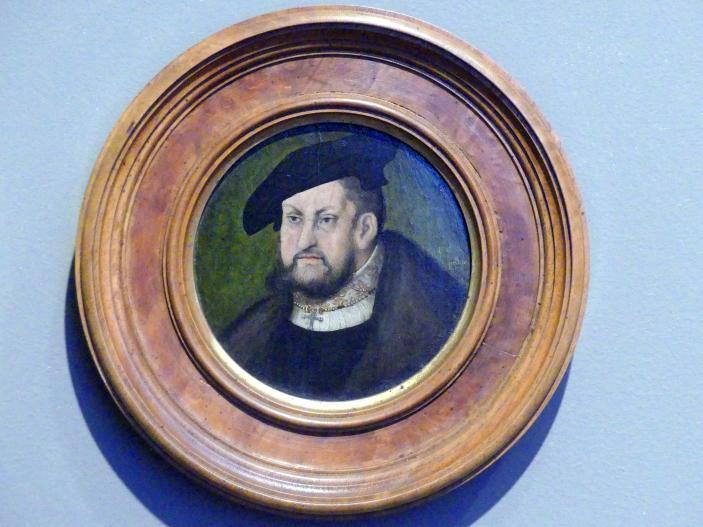 Lucas Cranach der Ältere: Kurfürst Johann der Beständige von Sachsen (1468-1532), Bruder von Friedrich dem Weisen, 1525