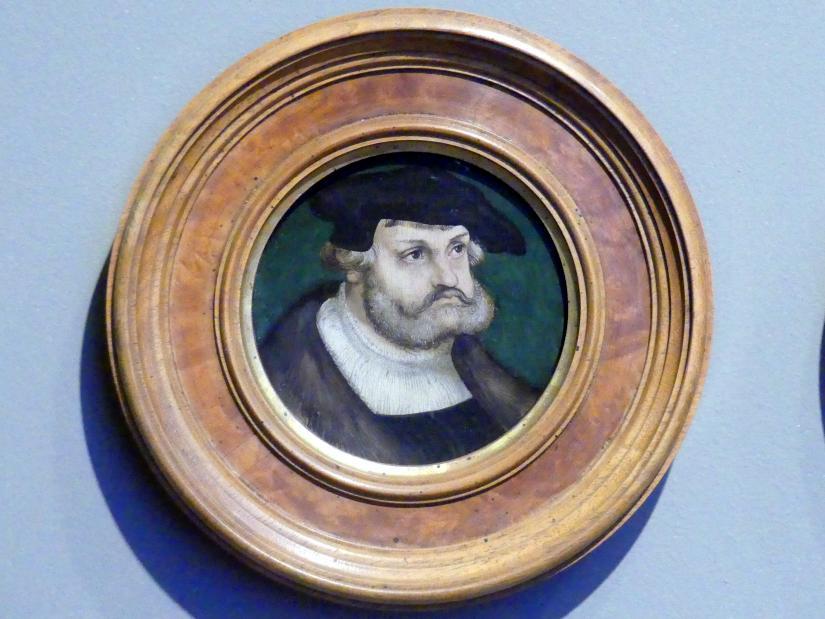 Lucas Cranach der Ältere: Kurfürst Friedrich der Weise von Sachsen (1463-1525), 1525