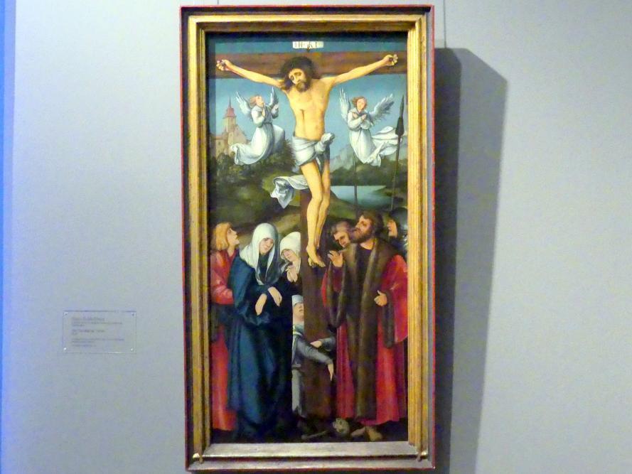 Hans Schäufelein: Die Kreuzigung Christi, 1515