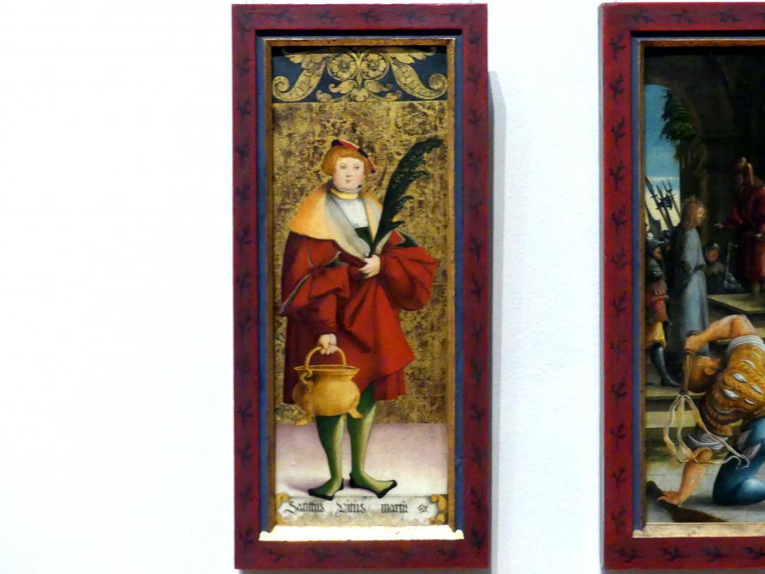 Meister von Meßkirch: Der Heilige Veit, um 1535 - 1540