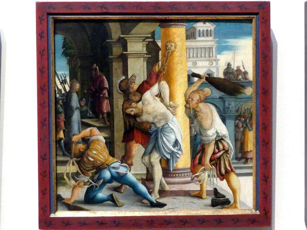 Meister von Meßkirch: Die Geißelung Christi, um 1535 - 1540