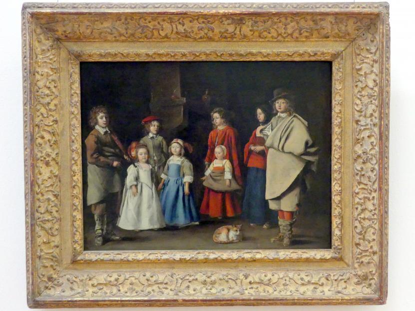 Antoine Le Nain: Vorbereitung zur Tanzstunde, um 1643