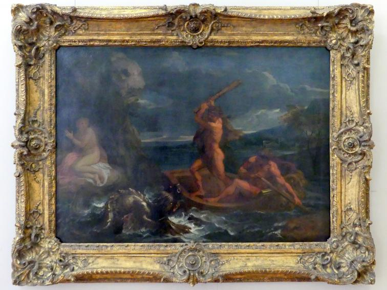Charles Le Brun: Herakles befreit Hesione, um 1650 - 1655