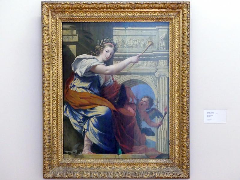 Simon Vouet: Die Muse Klio, um 1640