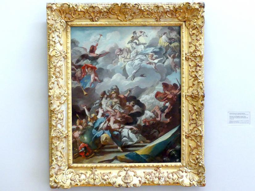 Michel-François Dandré-Bardon: Weisheit und Klugheit tragen dem siegreichen Frankreich den Frieden ein, 1735 - 1736