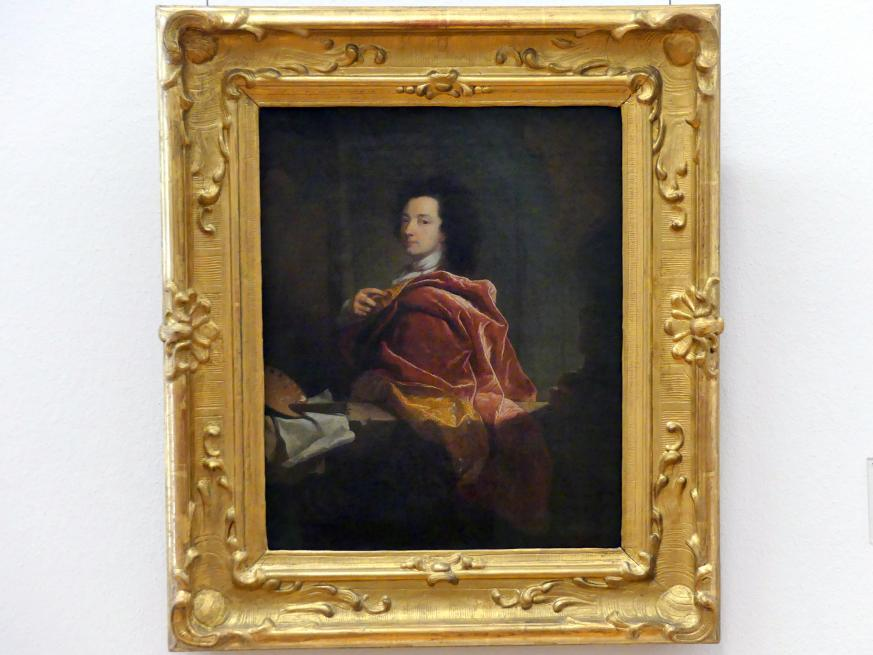 Hyacinthe Rigaud: Selbstbildnis, 1692