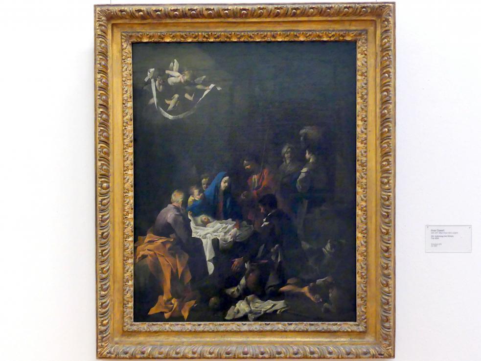 Jean Tassel: Die Anbetung der Hirten, um 1650