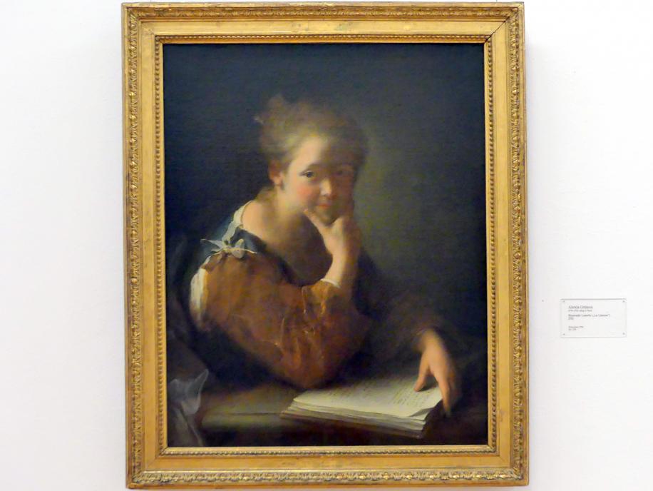 """Alexis Grimou: Sinnende Leserin (""""La Liseuse""""), 1731"""