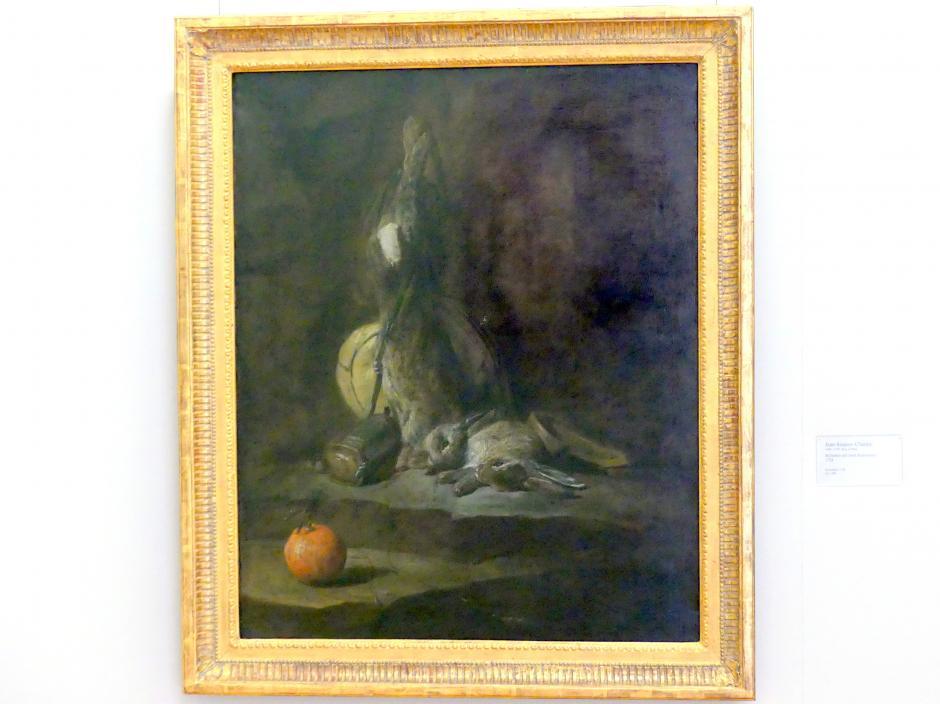 Jean Siméon Chardin: Stillleben mit toten Kaninchen, 1728