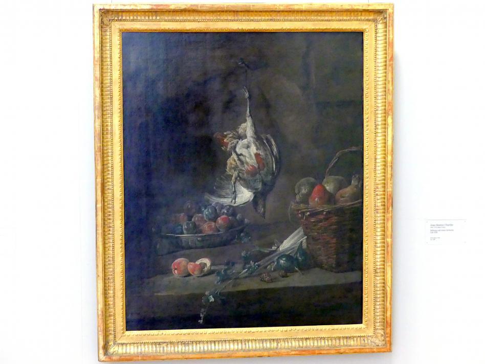 Jean Siméon Chardin: Stillleben mit totem Rebhuhn, um 1728