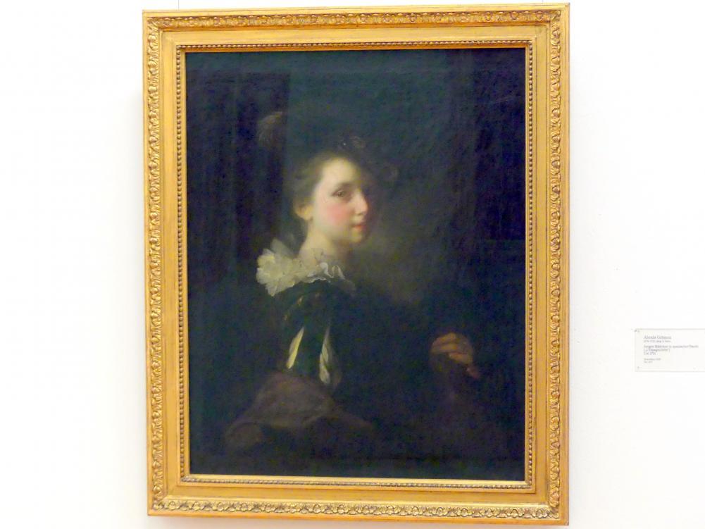 """Alexis Grimou: Junges Mädchen in spanischer Tracht (""""L'Espagnolette""""), um 1731"""
