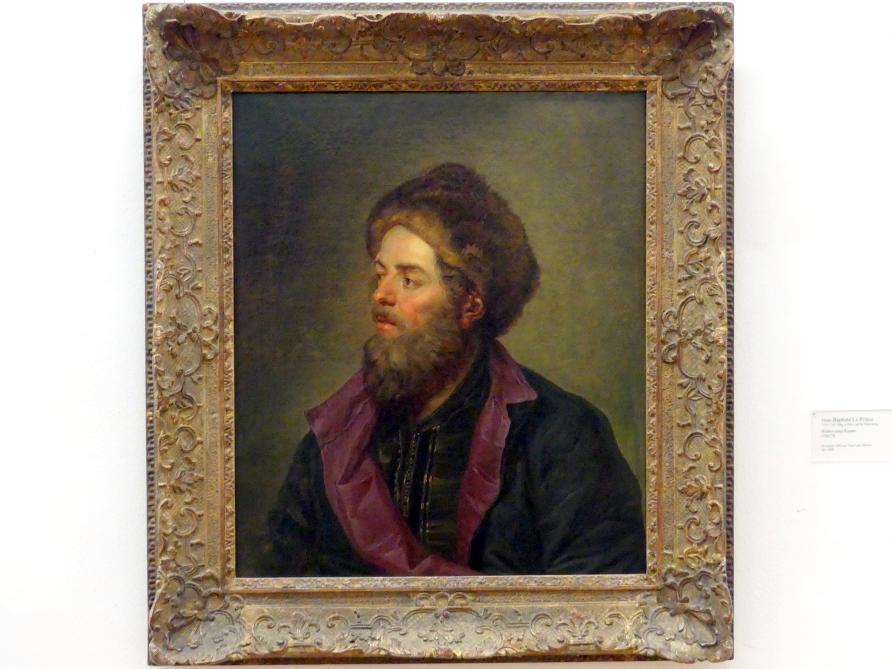 Jean Baptiste Leprince: Bildnis eines Russen, 1765 - 1770