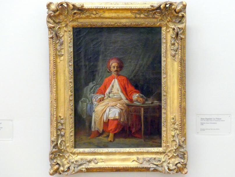 Jean Baptiste Leprince: Bildnis eines Orientalen, 1769