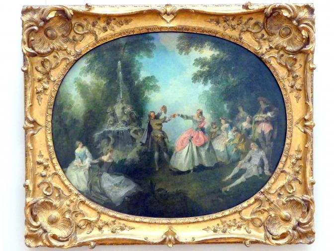 Nicolas Lancret: Das Menuett, 1720 - 1740