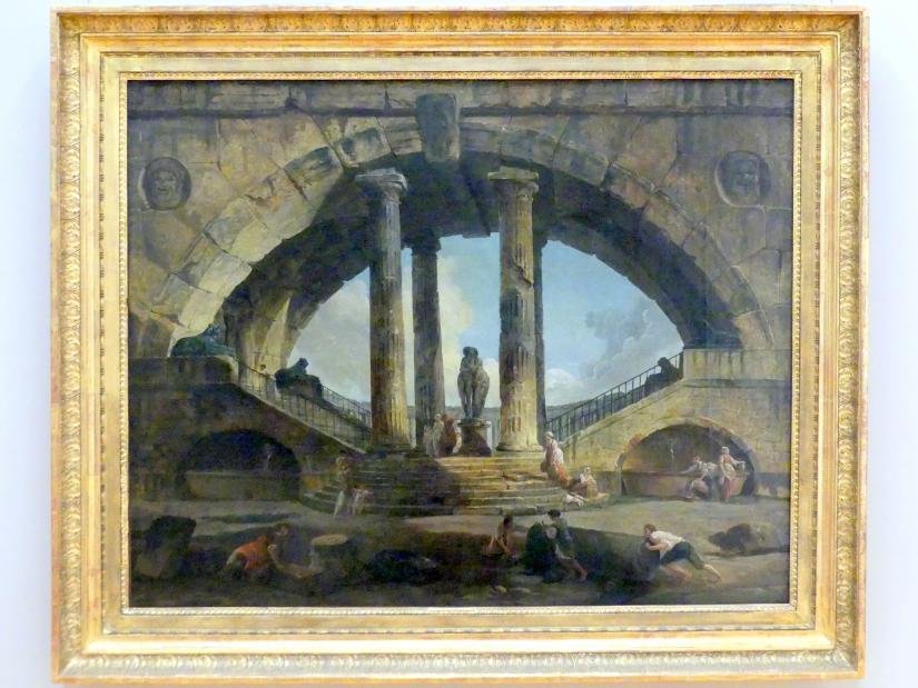 Hubert Robert: Römische Phantasievedute, 1798