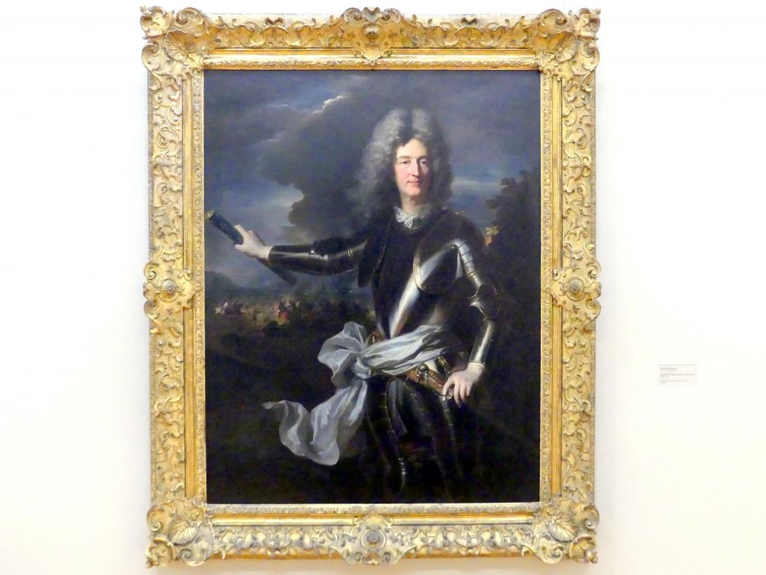 Hyacinthe Rigaud: Marschall Charles-Auguste de Matignon, um 1710
