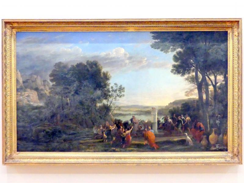 Claude Lorrain (Claude Gellée): Die Anbetung des Goldenen Kalbes, 1653