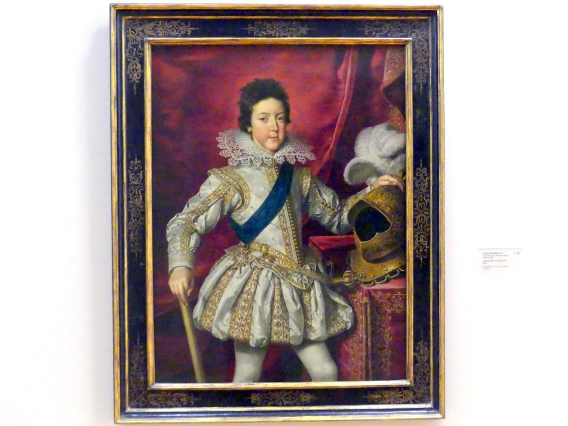 Frans Pourbus der Jüngere: Ludwig XIII. von Frankreich, 1616