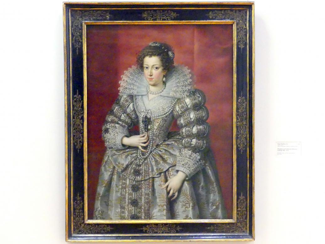Frans Pourbus der Jüngere: Elisabeth von Frankreich, Schwester Ludwigs XIII., 1616