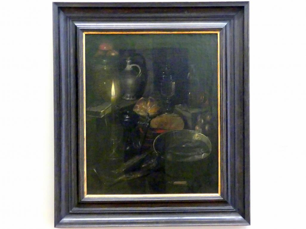 Georg Flegel: Vorratskammer bei Kerzenlicht, 1630 - 1635