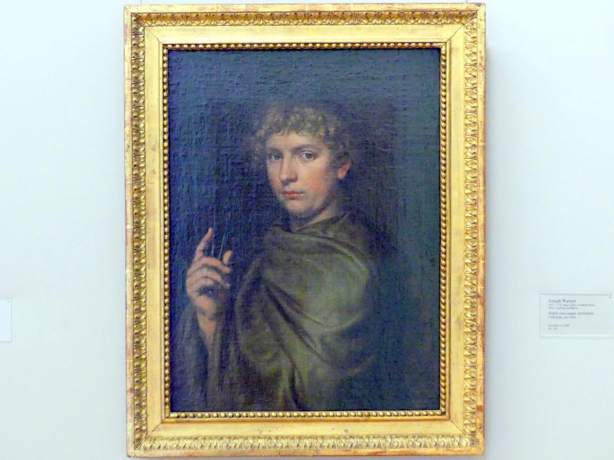 Joseph Werner der Jüngere: Bildnis eines jungen Architekten, 1654