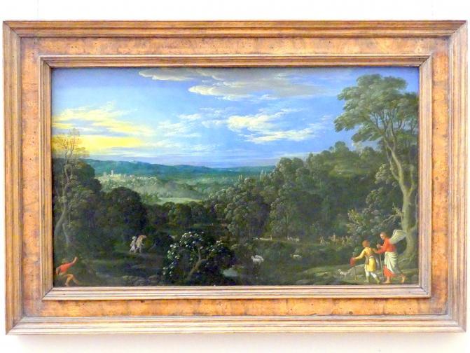 Johann König: Landschaft mit Tobias und dem Engel, 1610 - 1630