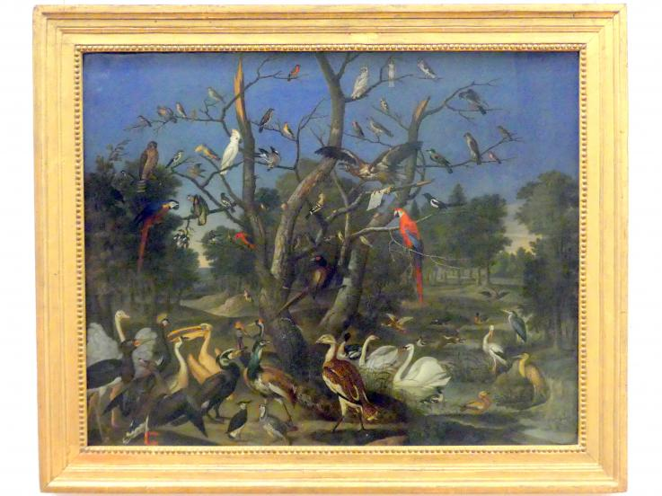 Franz de Hamilton: Konzert der Vögel, 1670 - 1690