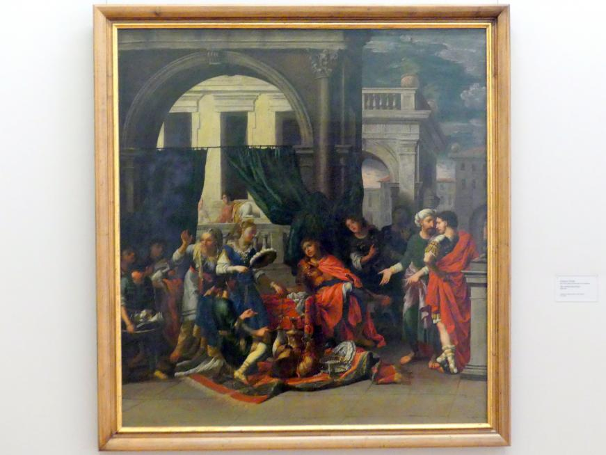 Johann Heiss: Die Großmut des Scipio, 1675 - 1695