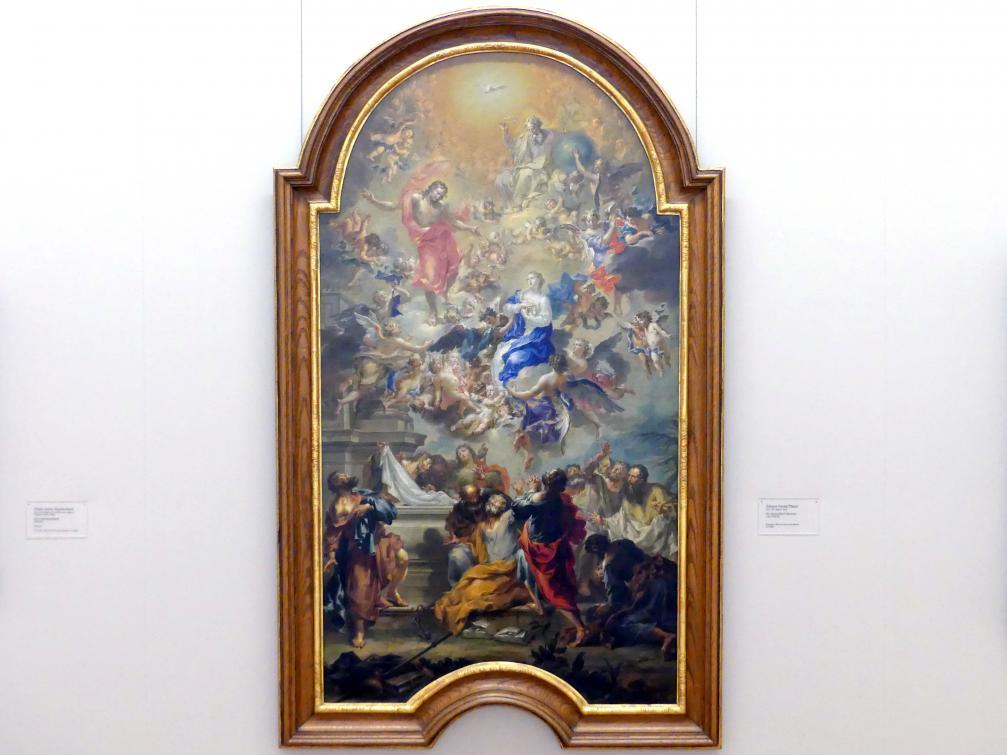 Johann Georg Platzer: Die Himmelfahrt Mariens, um 1730 - 1735