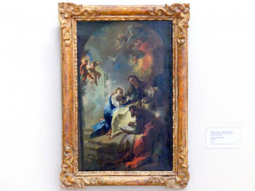 Franz Anton Maulbertsch: Die Erziehung Mariä, 1752 - 1754